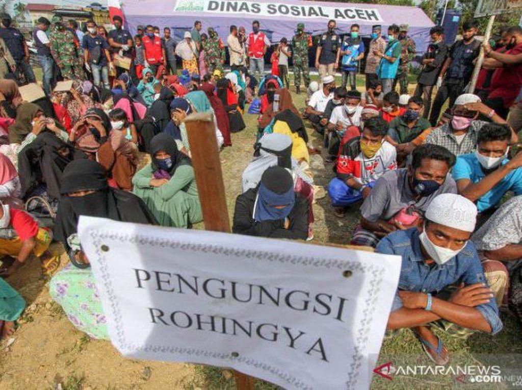249 dari 352 Imigran Rohingya di Lhokseumawe Aceh Kabur dari Penampungan