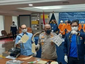 Komplotan Perampok Viral di Minimarket Ciputat Ditangkap, 1 Pelaku Didor