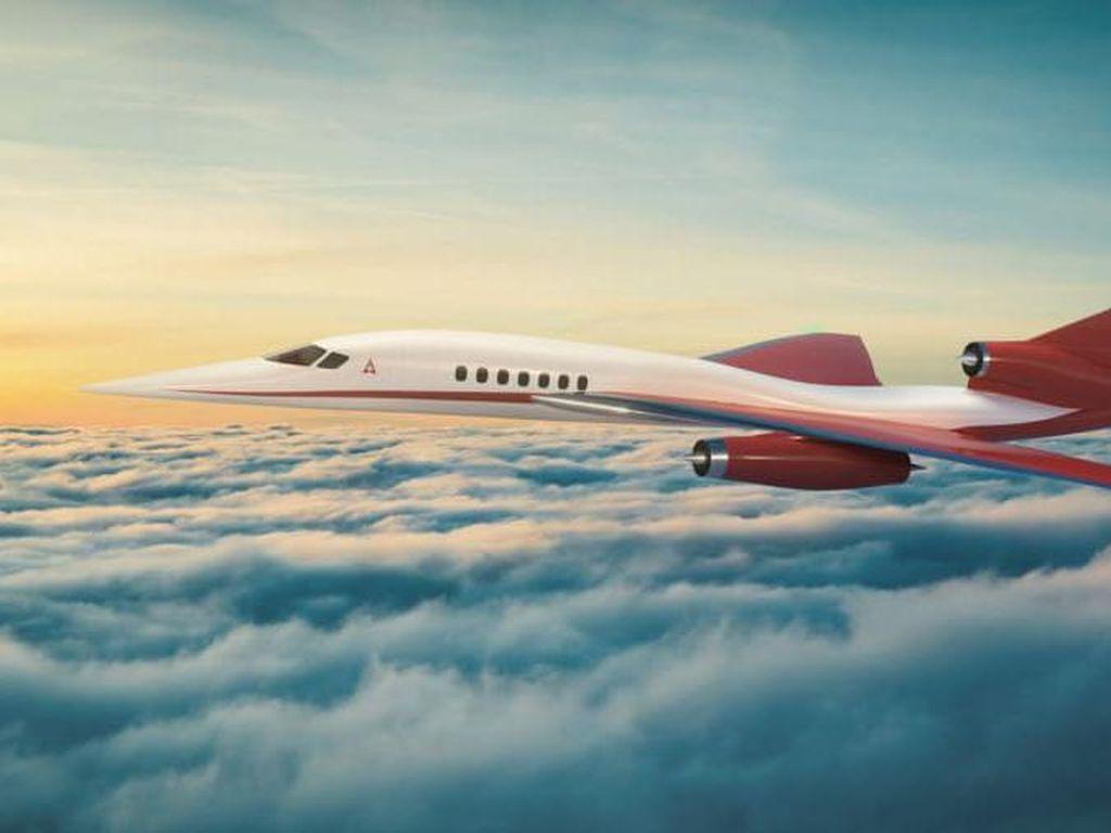 Pabrik Penerus Pesawat Supersonik Concorde Muncul, Debut Tahun 2023