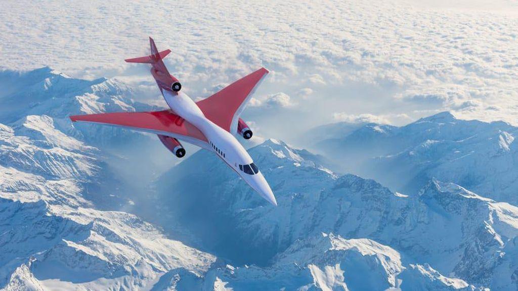 Potret Penerus Pesawat Supersonik Concorde, Baru Bangun Kantor