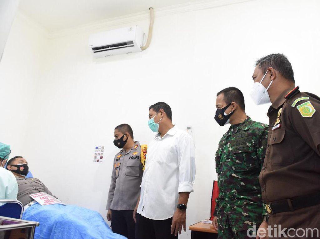 Saat Aparat Penyintas COVID-19 di Kota Kediri Kompak Donor Plasma Konvalesen