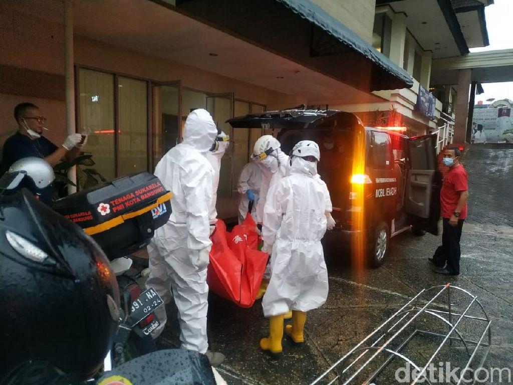 Pria Berpakaian Wanita Ditemukan Tewas di Hotel Bandung