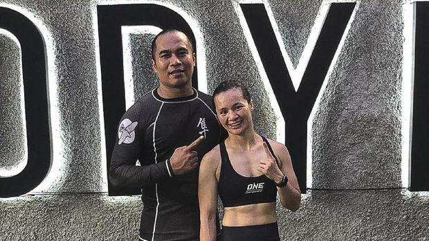Atlet MMA, Priscilla Hertati Lumbangaol (Tati)