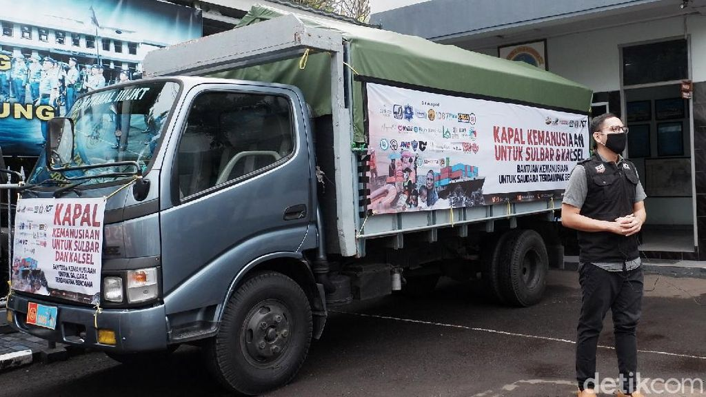 TNI AL-ACT Kirim Bantuan untuk Korban Bencana Sulbar dan Kalsel