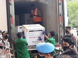 25.600 Dosis Vaksin COVID-19 Diterima Pemkab Bogor