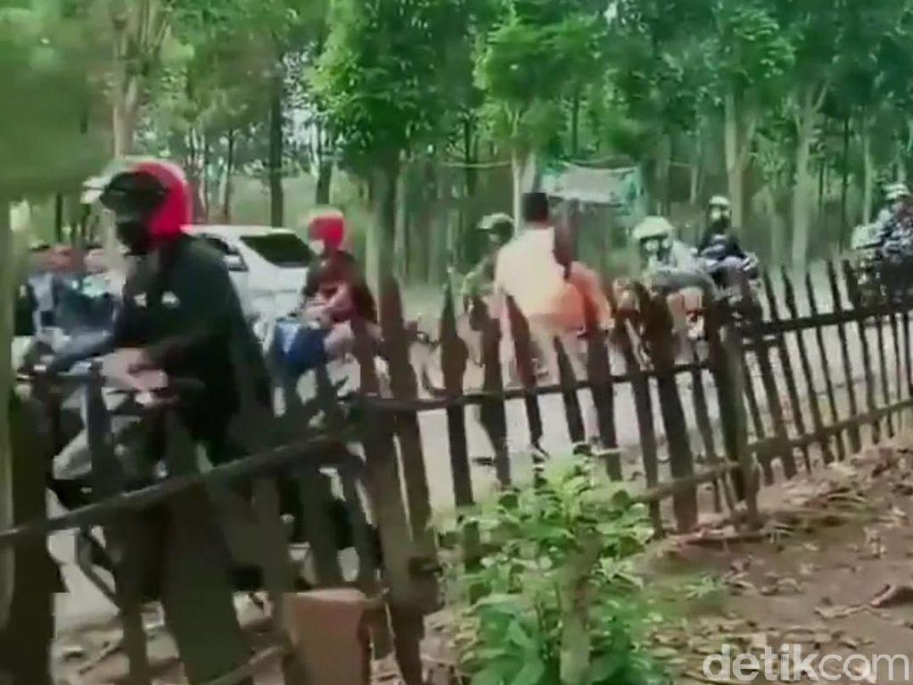 Polisi Selidiki Rombongan Motor Berknalpot Brong yang Dipukul Warga Kediri