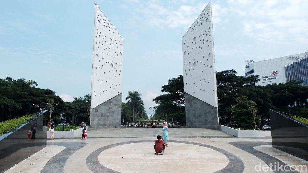Begini Wajah Baru Monumen Perjuangan di Bandung
