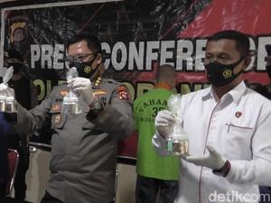 Polisi Gagalkan Penjualan Merkuri Ilegal ke Penambang Emas di Gorontalo