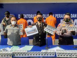 Polda Riau Gagalkan Peredaran 230 Ribu Batang Rokok Ilegal, 3 Orang Diciduk