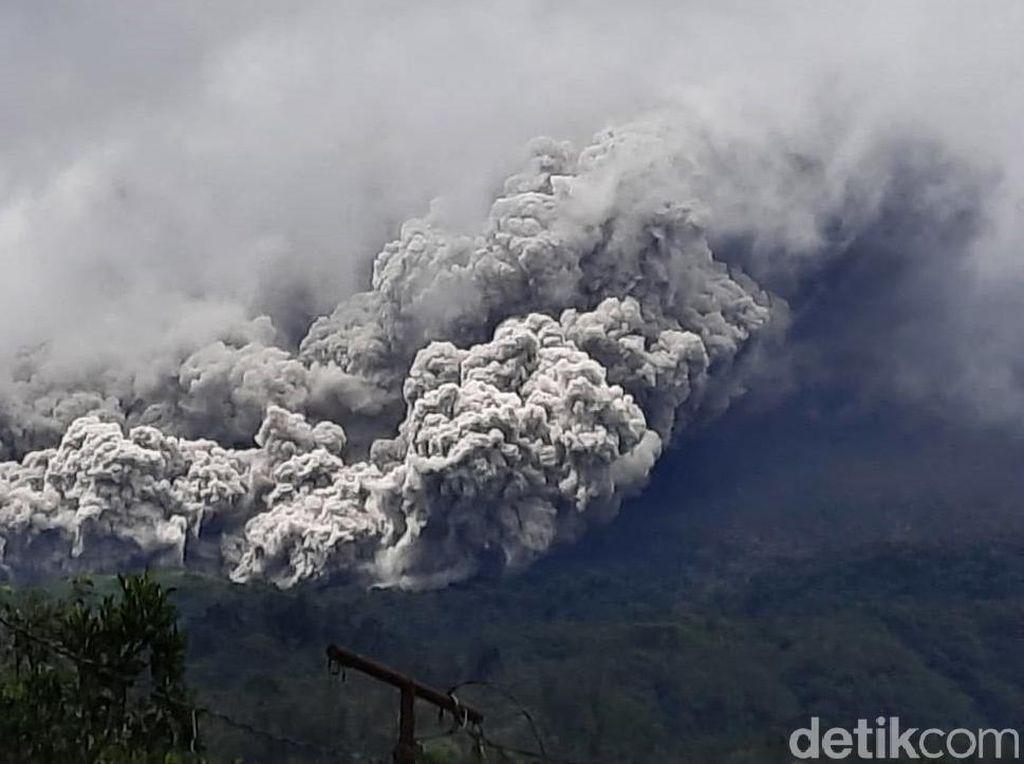 Gunung Merapi Erupsi Siang Tadi, Jarak Luncur Awan Panas Capai 3 Km