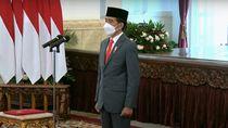 Jokowi Lantik Dewan Pengawas Lembaga Pengelola Investasi