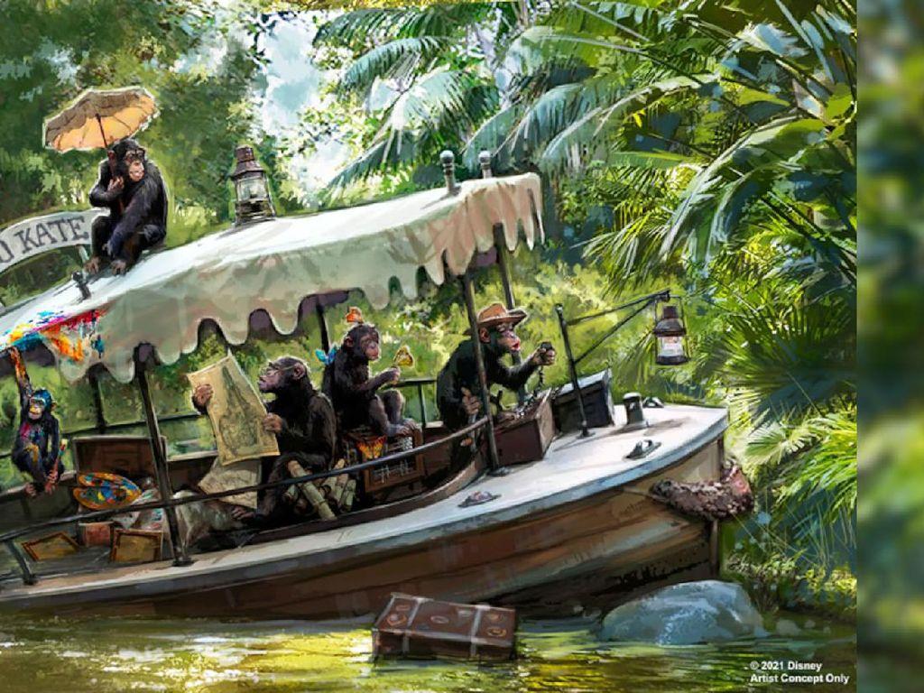Disney Akan Rombak Jungle Cruise karena Singgung Adat