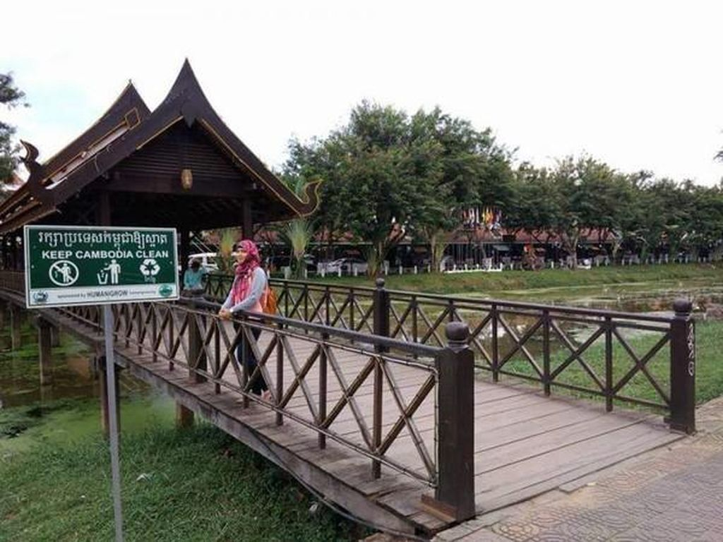 Seru Banget, Backpackeran Pertama Kali ke Kamboja