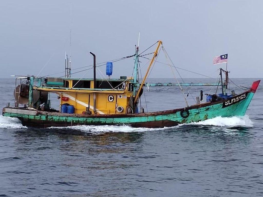 RI Tenggelamkan 10 Kapal Maling Ikan Vietnam-Malaysia