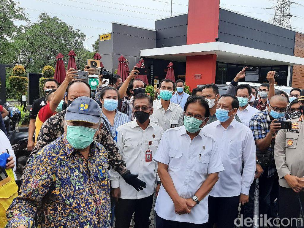 Menteri ATR-Menteri PUPR Cek Tata Ruang di Grand Kota Bintang Bekasi