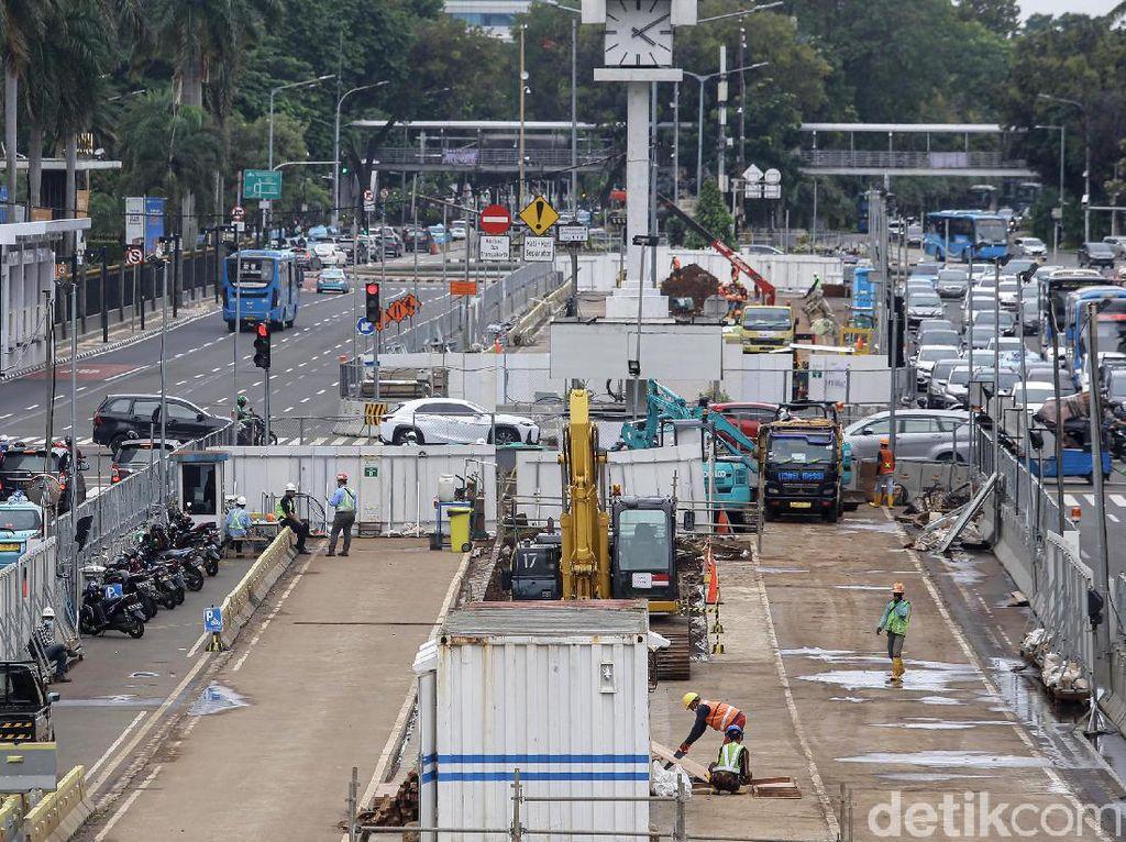 Nggak Sabar Naik MRT Sampai Harmoni? Begini Progres Pembangunannya