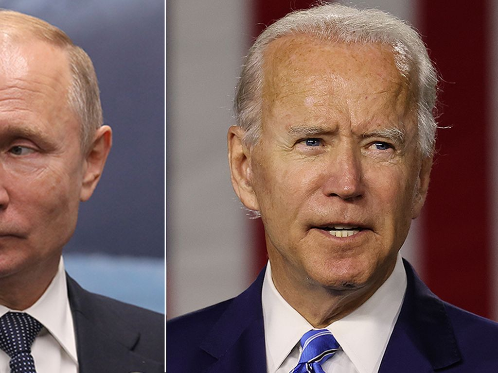 AS dan Rusia Panas Soal Ukraina, Biden Ajak Putin Bertemu