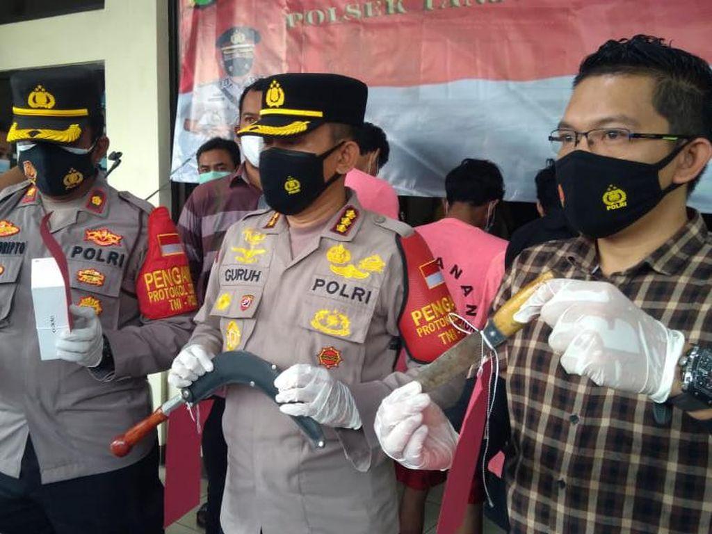 3 Begal di Jakut Ditangkap Polisi, Modusnya Tuduh Korban Kebut-kebutan