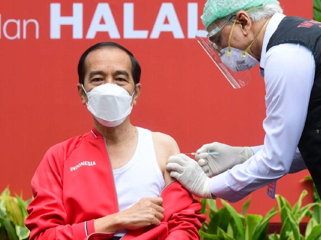 Sudah 6 Bulan Jokowi-Raffi Ahmad Dapat Vaksin Sinovac, Butuh Booster?