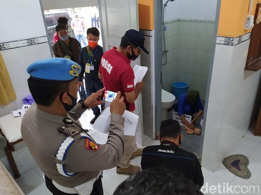 Adegan Sadis Mahasiswi Habisi Bayinya di Asrama RSJ Magelang Direkonstruksi