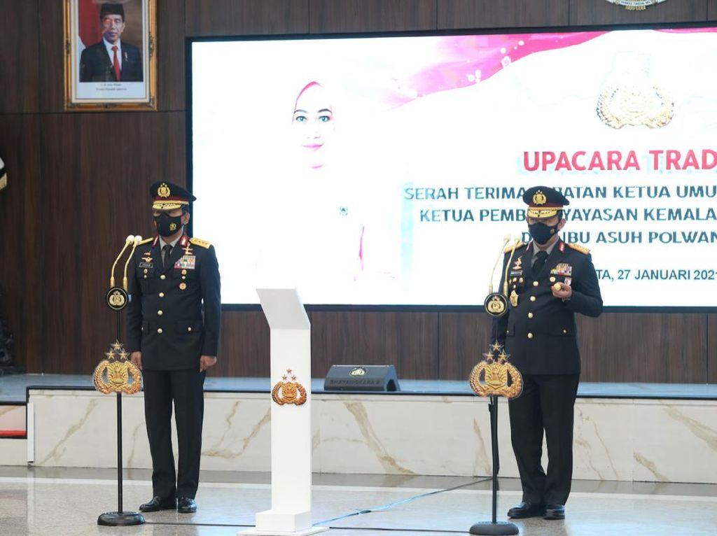 Ucapkan Terima Kasih, Jenderal Sigit Ibaratkan Idham Azis Elang Pemimpin