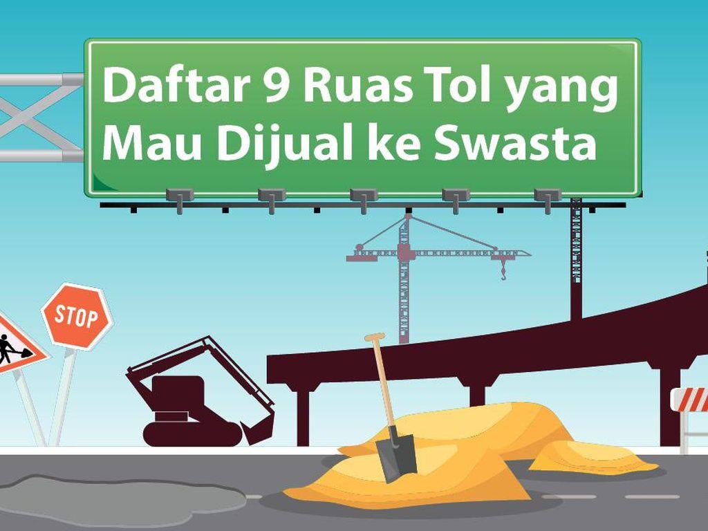 3 Fakta Sederet Ruas Jalan Tol yang Bakal Dijual ke Swasta