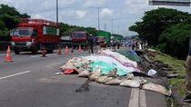 Imbas Tol Surabaya-Gempol Longsor, Jalur Satelit-Perak Ditutup Sementara