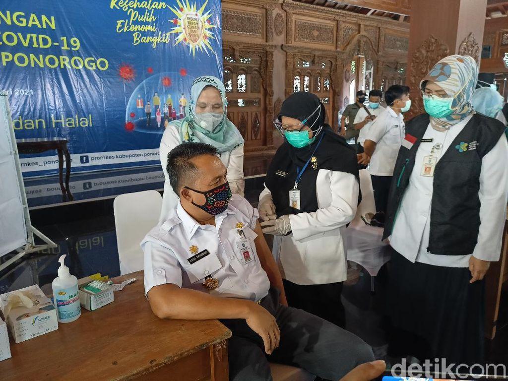 Para Pimpinan di Ponorogo Tak Ikut Vaksin COVID-19, Ini Alasannya