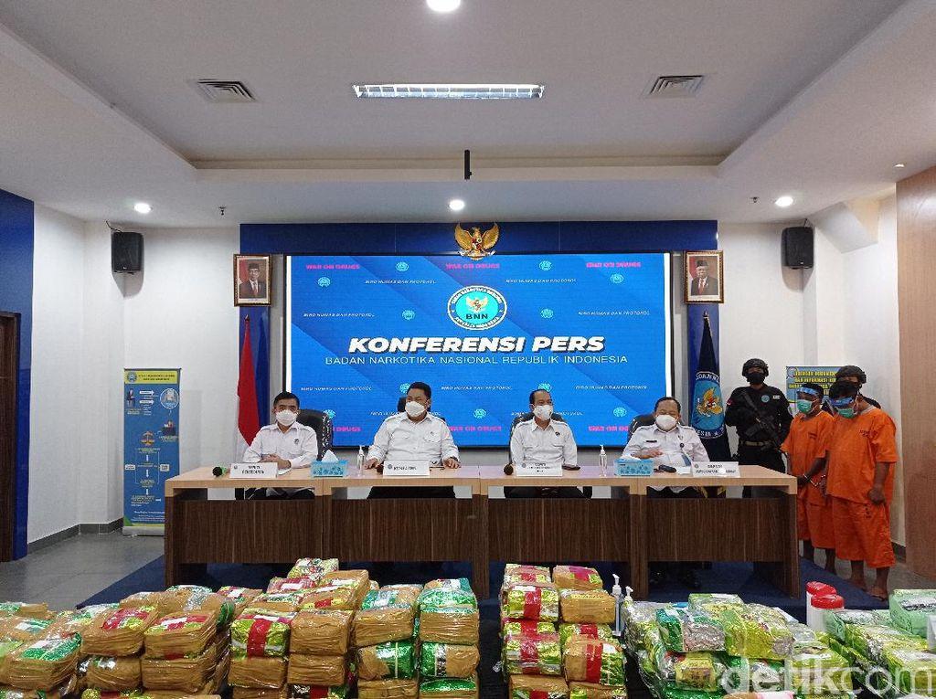 BNN Ringkus Sindikat Internasional Selundupkan 211 Kg Sabu di Sumsel-Aceh