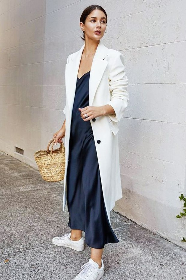 Contoh gaya fashion minimalist