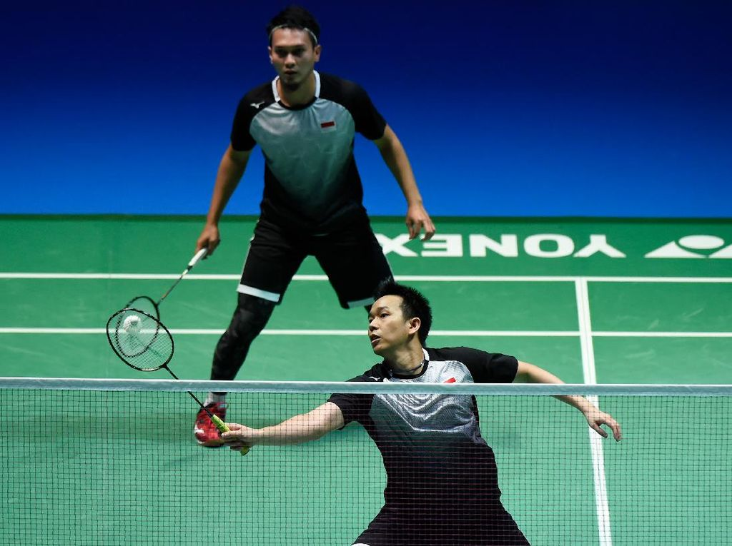 Hendra/Ahsan Gagal Juara BWF World Tour Finals 2020