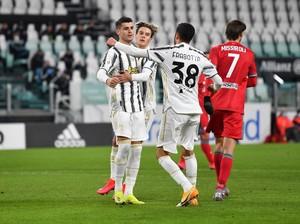 Juventus Vs SPAL: Bianconeri Menang 4-0, Tantang Inter di Semifinal