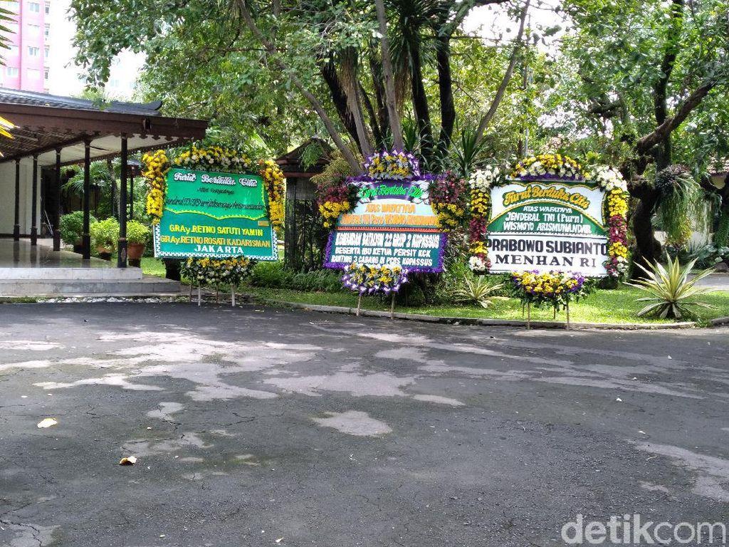 Wismoyo Arismunandar Meninggal, Prabowo Kirim Karangan Bunga ke Ndalem Kalitan