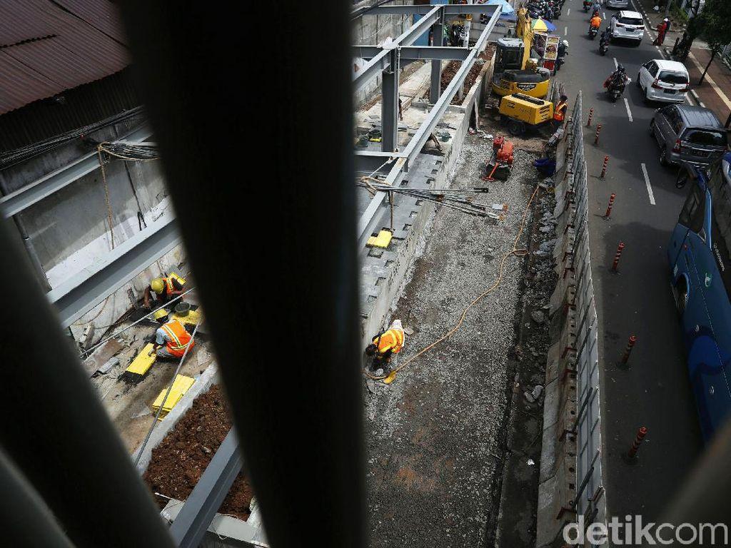 Tengok Kawasan Stasiun Palmerah yang Terus Ditata