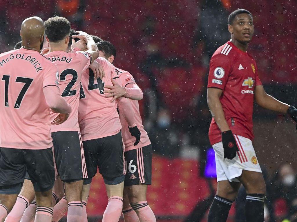 Gol-gol Manchester United Tumbang dari Sheffield United