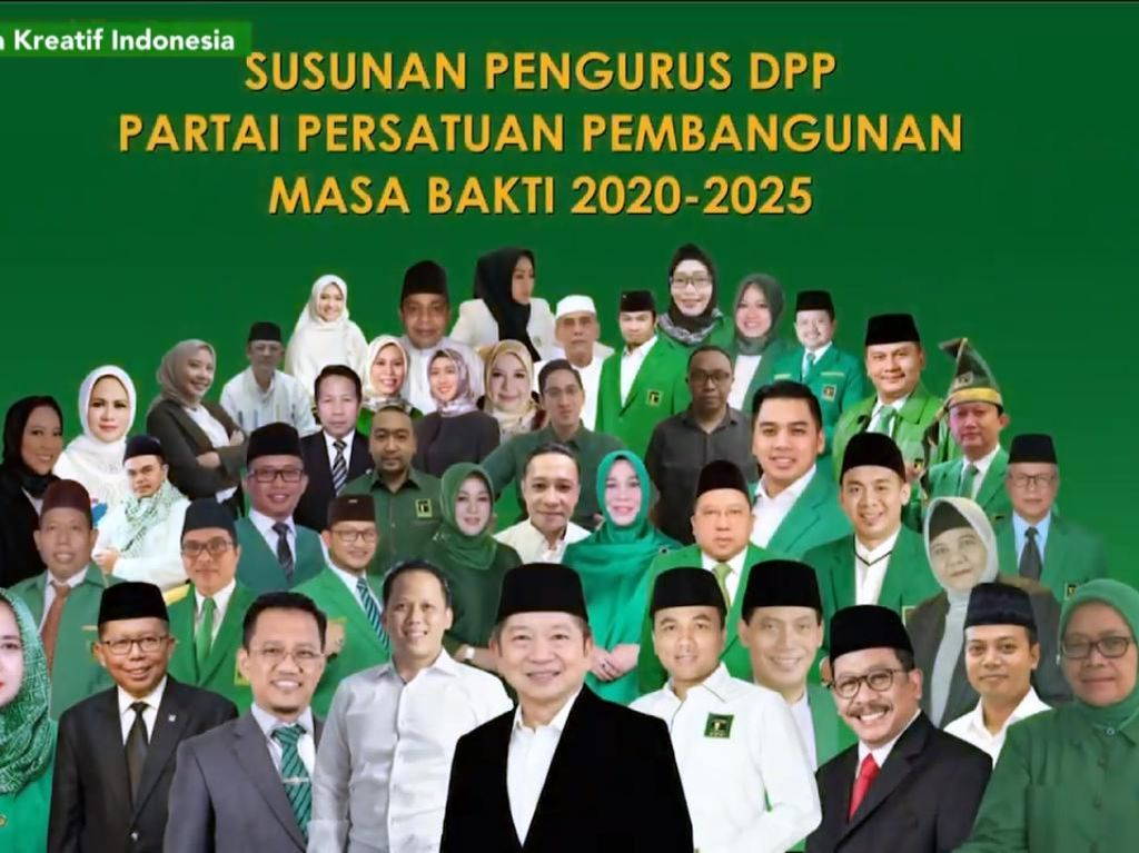 Dipimpin Suharso Monoarfa, Ini Wajah Baru DPP PPP 2020-2025