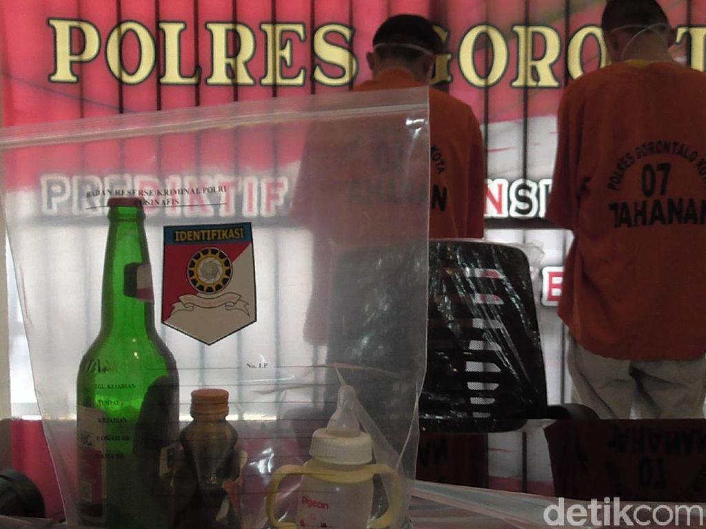 2 Tersangka yang Cekoki Miras ke Bayi  di Gorontalo Masih Pelajar