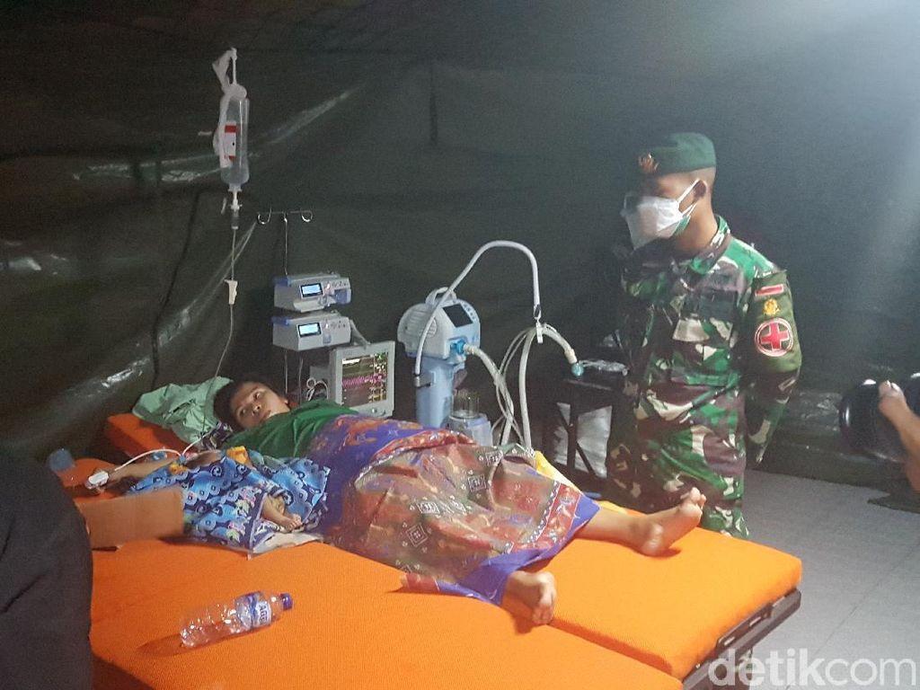 124 Korban Gempa Sulbar Ditangani Tim Medis RS Lapangan Dukungan KSAD