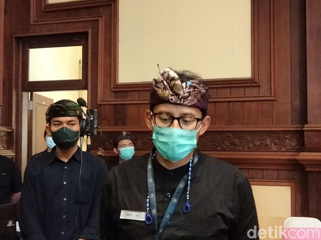 Sandiaga Kaji Konsep Free Covid Corridor untuk Datangkan Turis ke Bali