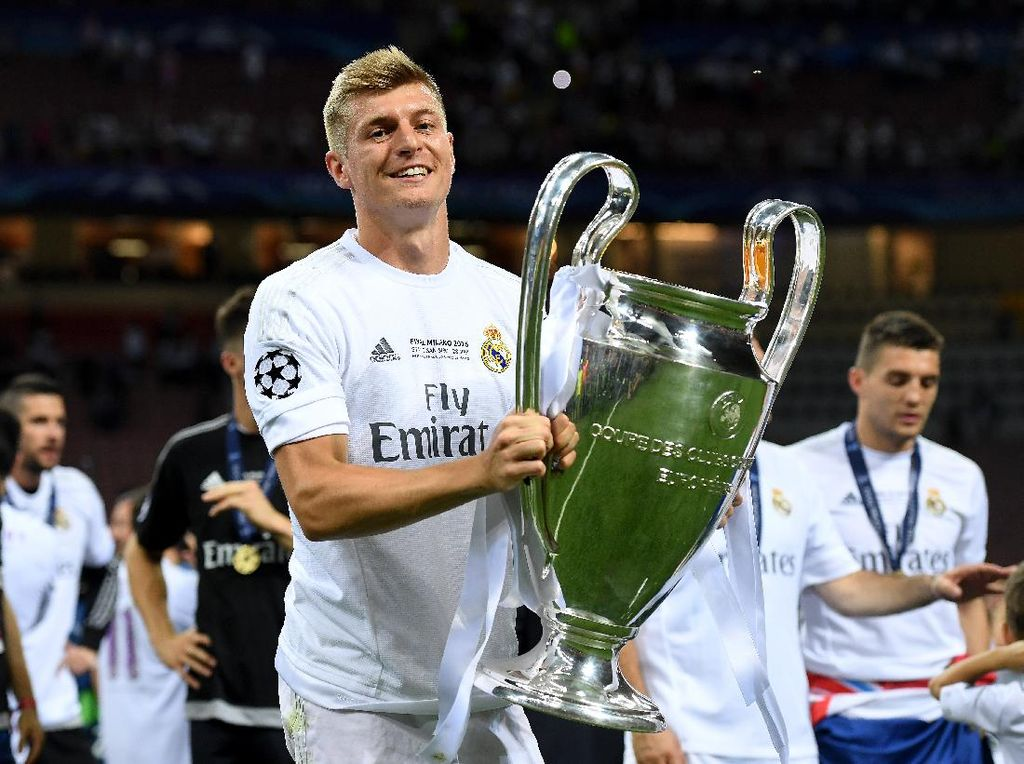Toni Kroos Inginkan Gelar Liga Champions Kelima