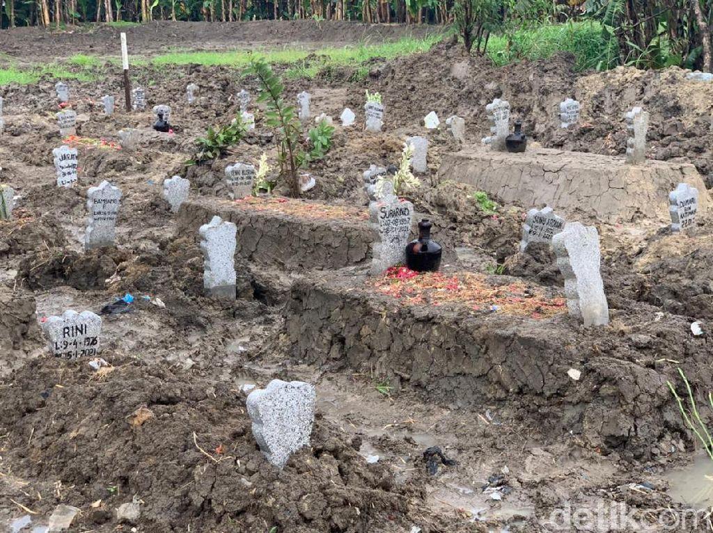 TPU Babat Jerawat Surabaya untuk Jenazah Pasien COVID-19 Tersisa Satu Blok