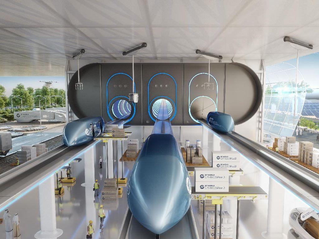 Virgin Hyperloop, Secepat Pesawat Udara, Senyaman Mobil