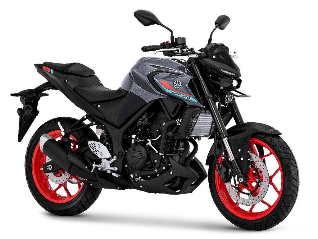 Tampilan Baru Yamaha MT-25