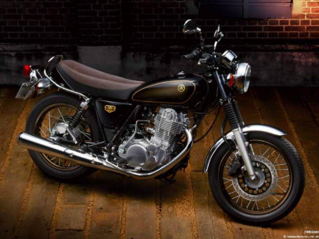 Motor Edisi Terakhir Yamaha SR400