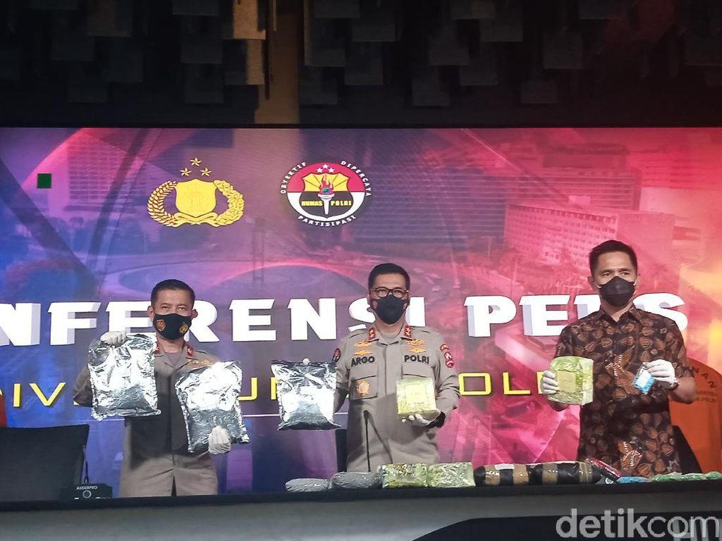 Bareskrim Bongkar Jaringan Narkoba Malaysia, Dikendalikan Napi Lapas di Batam