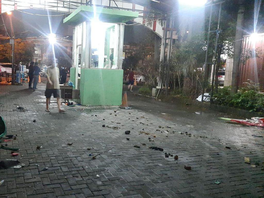 Buru Pelaku Bentrokan di Rusunami City Park Cengkareng, Polisi Cek CCTV