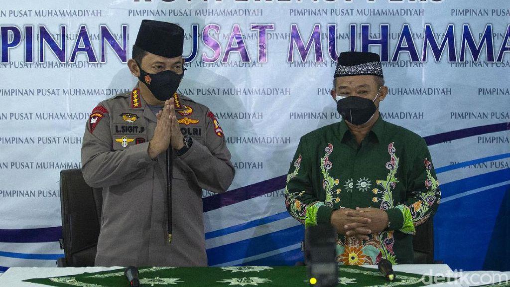 Berpeci Hitam, Jenderal Listyo Sigit Silaturahmi ke PP Muhammadiyah