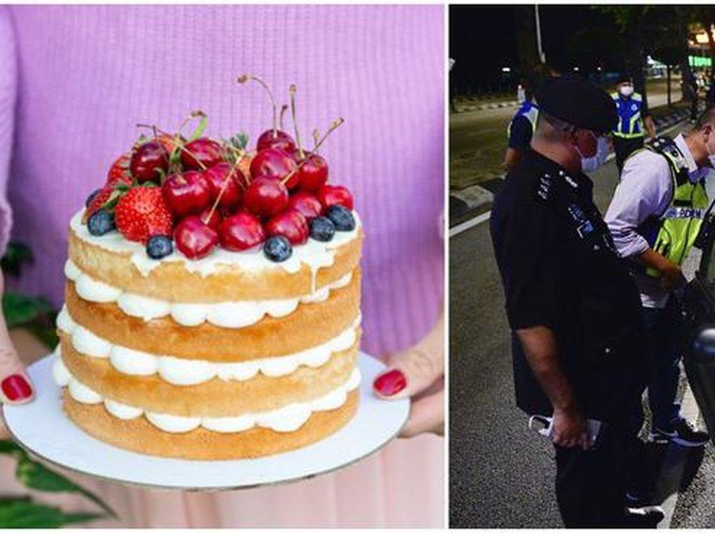 Duh! Gegara Kue, Orang-orang Ini Harus Berurusan dengan Polisi