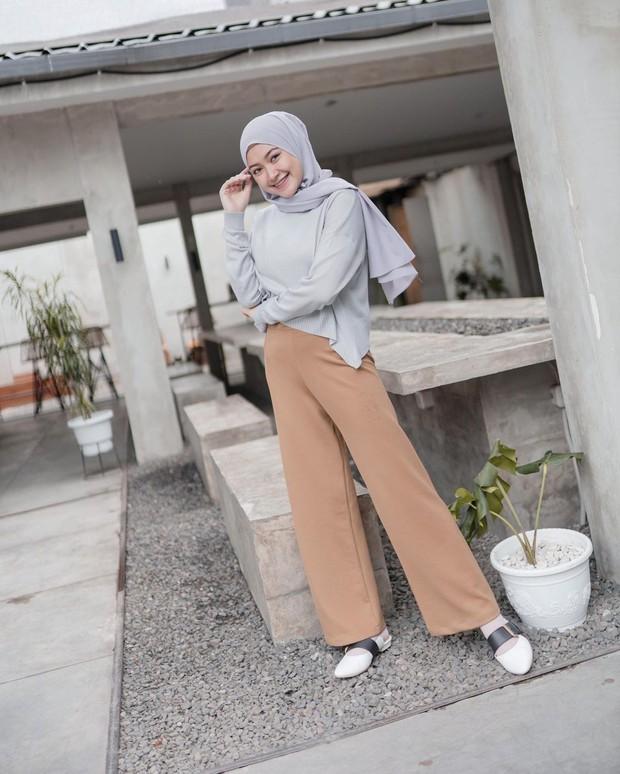Gaya hijab pastel