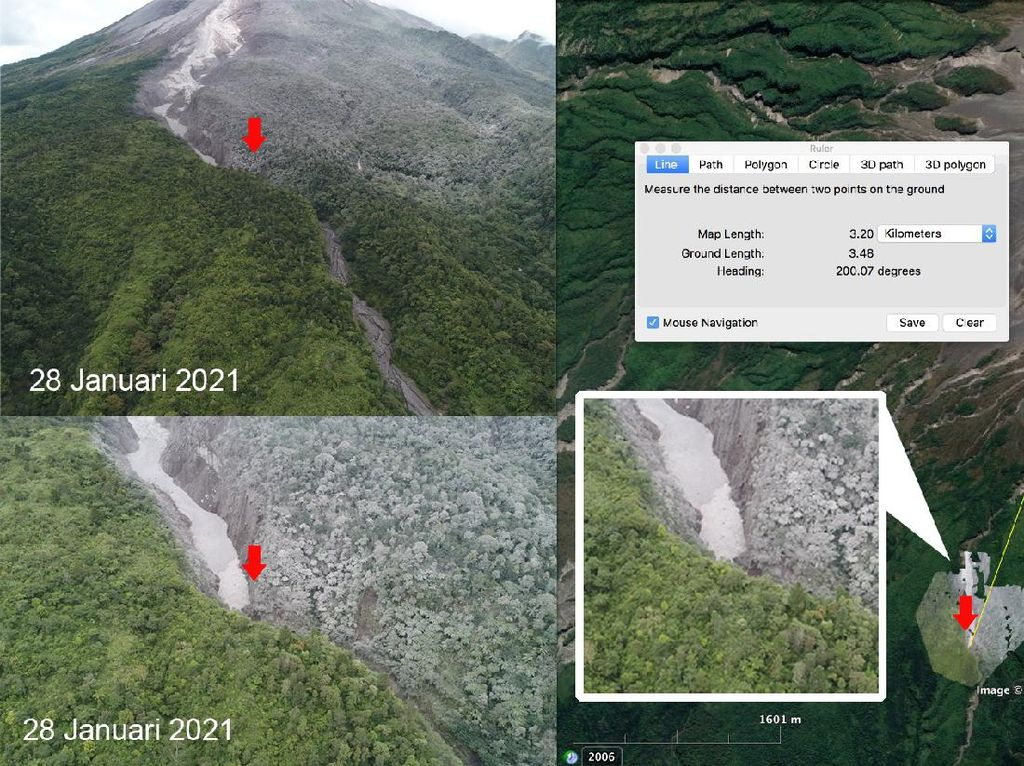 Melihat dari Dekat Lokasi Luncuran Awan Panas Merapi